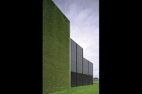 This Arup Associates-designed data centre near Frankfurt will be the first in the world to get a LEED Platinum rating
